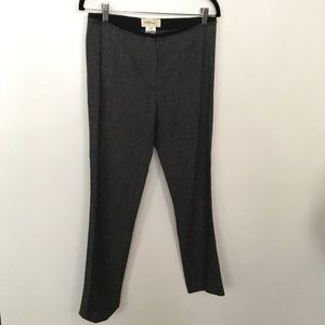 Isabel Marant Etoile Wool Check Crop Pant Size 1